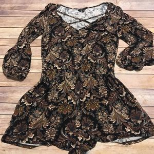 American Eagle Soft & Sexy Long Sleeve Romper